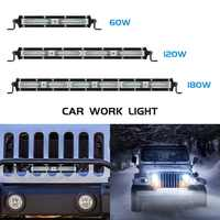 Safego 60W 120W 180W Led-arbeitslicht Bar Spot Strahl Auto Fahren Arbeits Lampe für Off-Road ATV UAZ SUV 4x4 Lkw Traktor Boot Wrangler