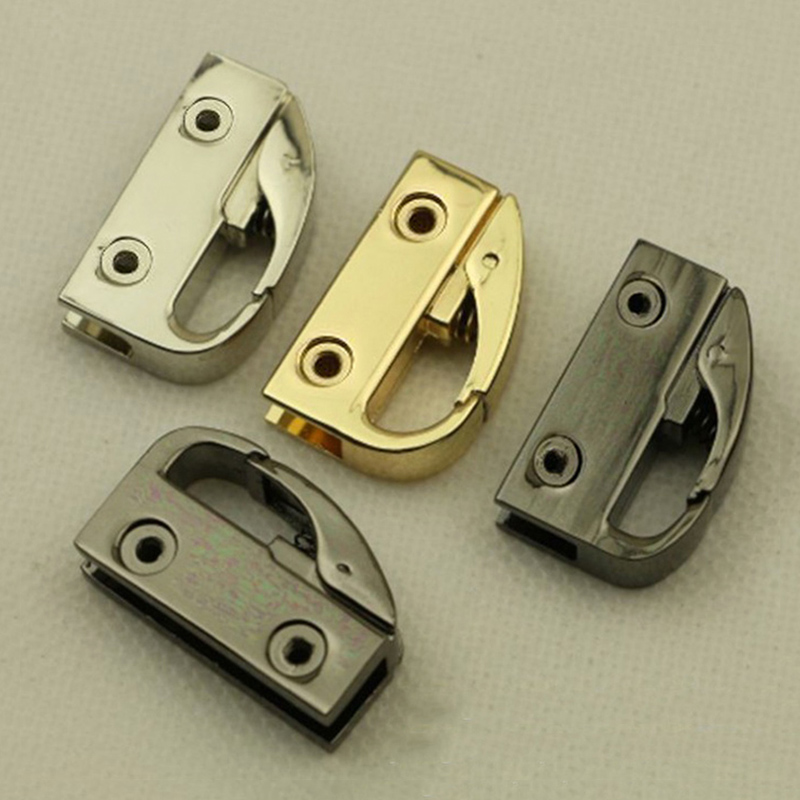 2pcs Bag Accessories Handbag Metal Buckle Lock For The Bag Hardware Crossbody Handbag Handle Connector Accessories For Bags