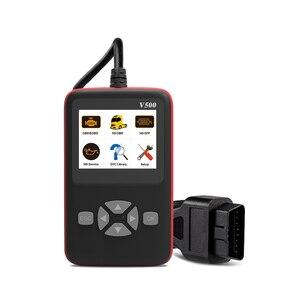 Image 5 - Skaner diagnostyczny V500 OBD OBD2 do samochodów ciężarowych Heavy Duty samochodowy czytnik kodów DPF Reset oleju CR HD narzędzie diagnostyczne PK NL102P