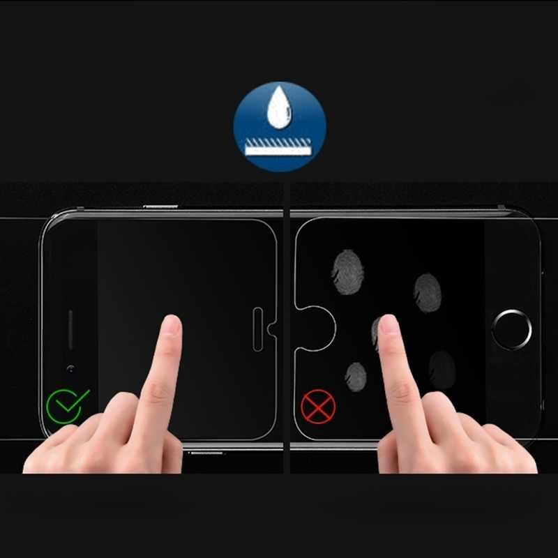 Dla Iphone 8plus przypadku szkło hartowane dla Iphone X XS MAX XR 10 6 6s 7 8plus Premium Screen Protector pokrywa ochronna przypadku