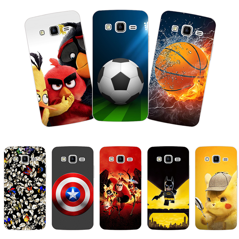 Soft silicone For <font><b>Samsung</b></font> <font><b>Galaxy</b></font> <font><b>Core</b></font> <font><b>Prime</b></font> G3608 <font><b>Cases</b></font> Cover <font><b>G360</b></font> G3606 G3608 G3609 G361F G360H G360F G361H Star Phone Bags image