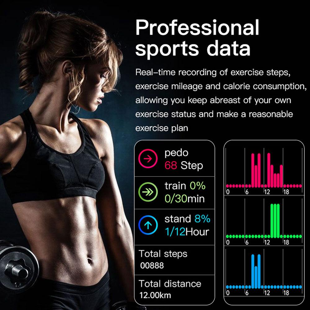 Hcf7693d7838c4443a880c5b628100708z Smart Watch Men Smartwatch Women Dial Call Watch Waterproof Fitness Tracker Music Control 2021 For Iphone Xiaomi Huawei IWO+gift