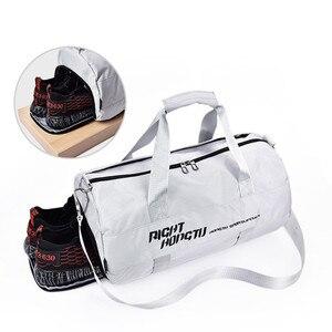 Image 4 - Bolsa de deporte impermeable para hombre y mujer, mochila de separación en húmedo seco para ejercicio de pelota, entrenamiento de baile, gimnasio, Fitness