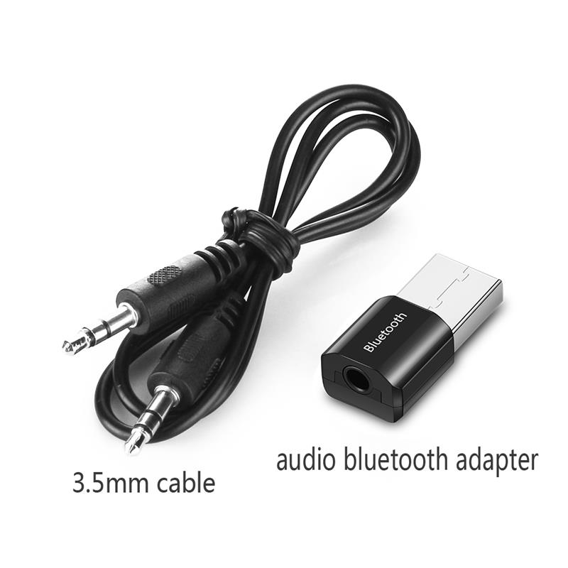 AUX Car Bluetooth Kit Adapter 3.5mm Wireless MP3 Speakers Music Receptor USB For Speaker Headset Receiver For TV PC Car Speaker