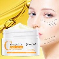 Anti-Oxidation Brighten Face Cream Shrink Pores Hyaluronic Acid Moisturizer Cream Anti Aging Eye Cream Dark Circles Eye Massager 3