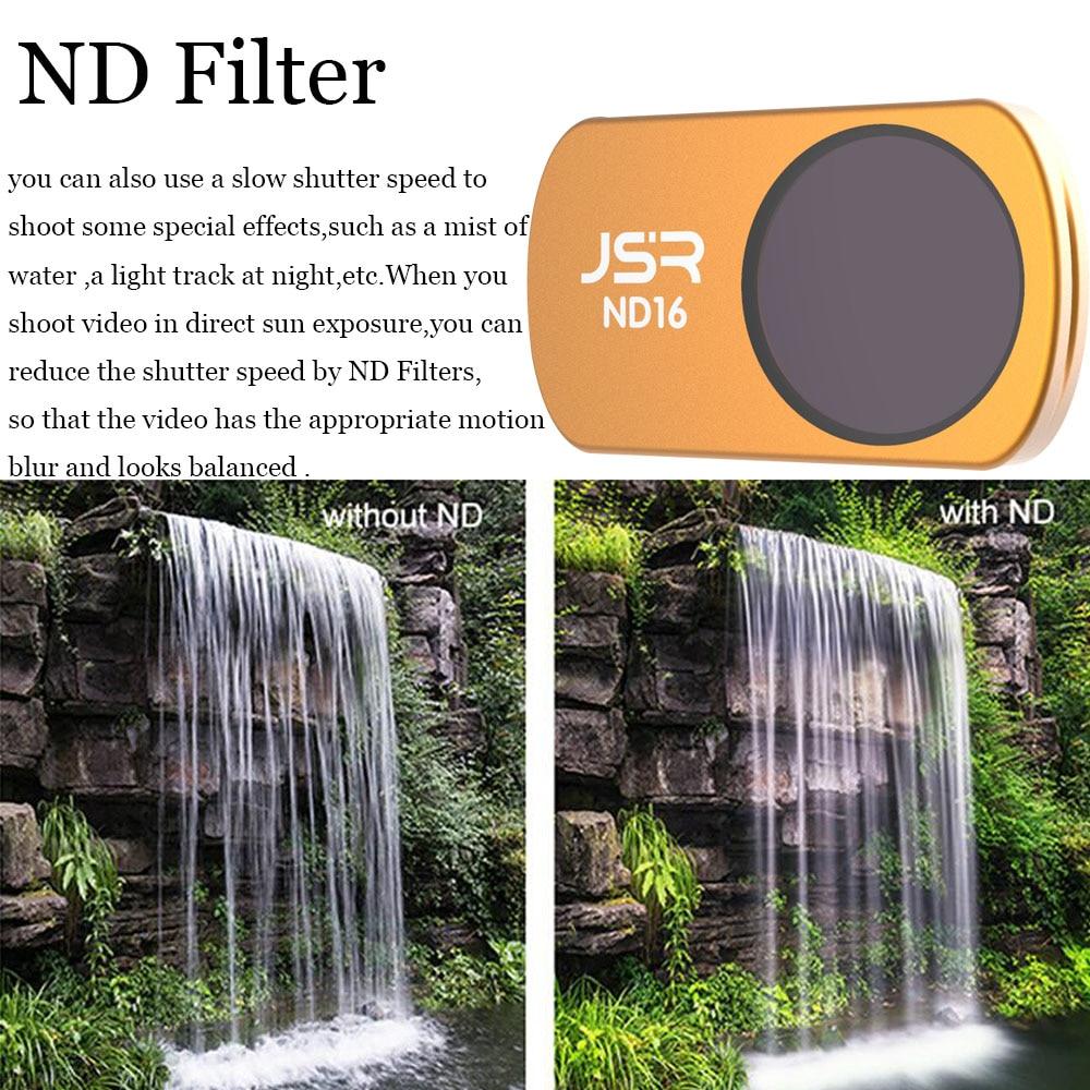 Mavic Air Filters Kit UV CPL ND4 ND8 ND16 ND32 Starlight HD Filter Portable Drone Gimbal Camera Lens Filters RC Aerial Camera CPL for Air ND UV CPL Filter