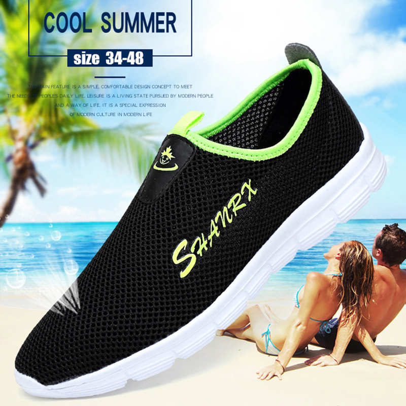 2020 Sandals Men's Casual Shoes 36 Fashion Lover Shoes Women Outdoor Wading Shoes Holidays Home Women Beach Shoes Plus Size 48