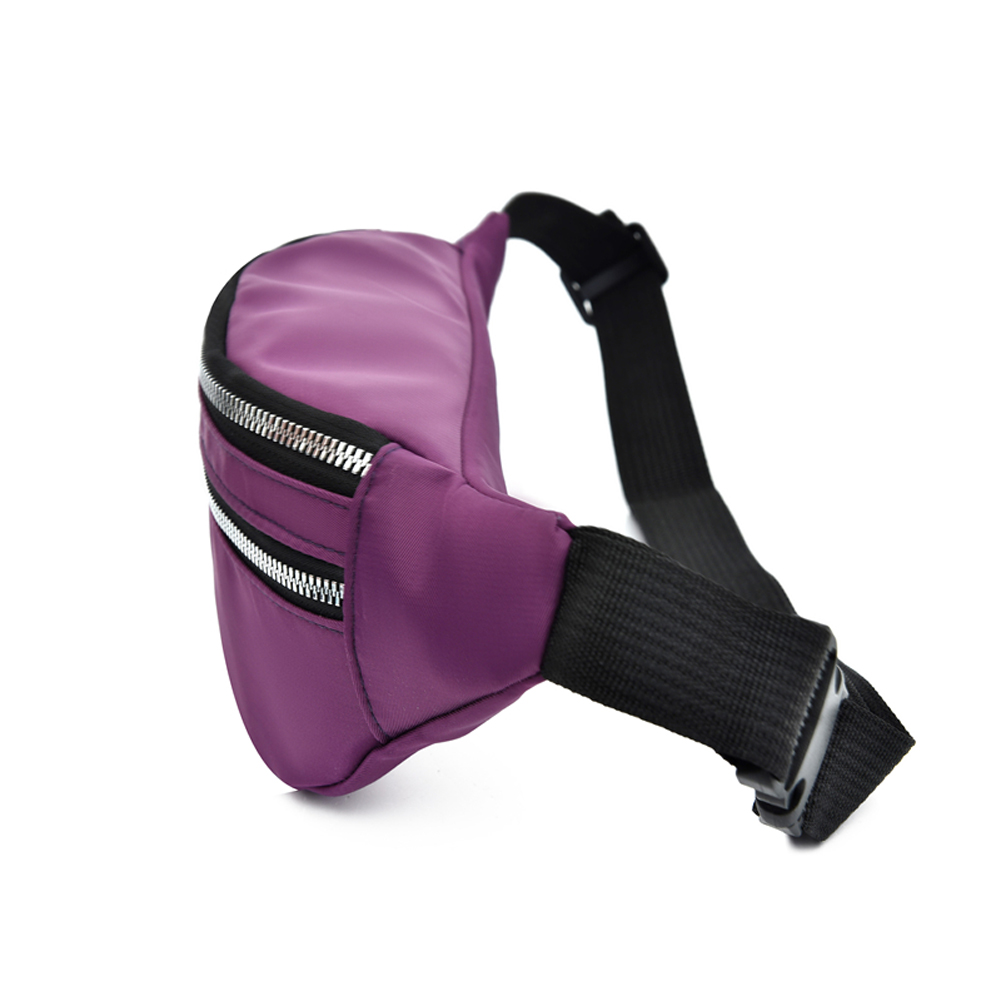 Women Ladies Female Waist Pack Zipper Adjustable Belt Solid Mini Shoulder Bag Crossbody Bag Sports Travel Cycling Casual  Bag 3