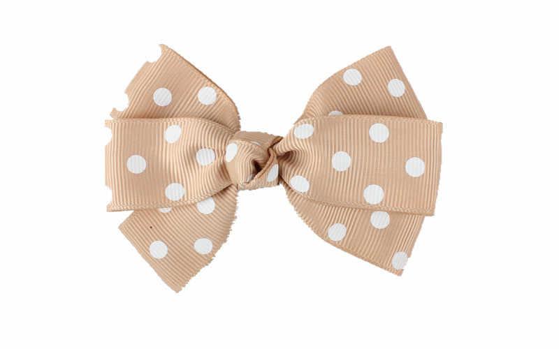 Dziewczyny moda spinki do włosów polka dot łuk projekt dla dzieci minimalistyczny nakrycia głowy włosy księżniczki akcesoria hot leczenia utraty