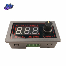 цена на DC 9-60V 12v 24v 48V 12A 20KHz Adjustable PWM Motor Speed Controller DC Motor controller Digital display Governor Switch