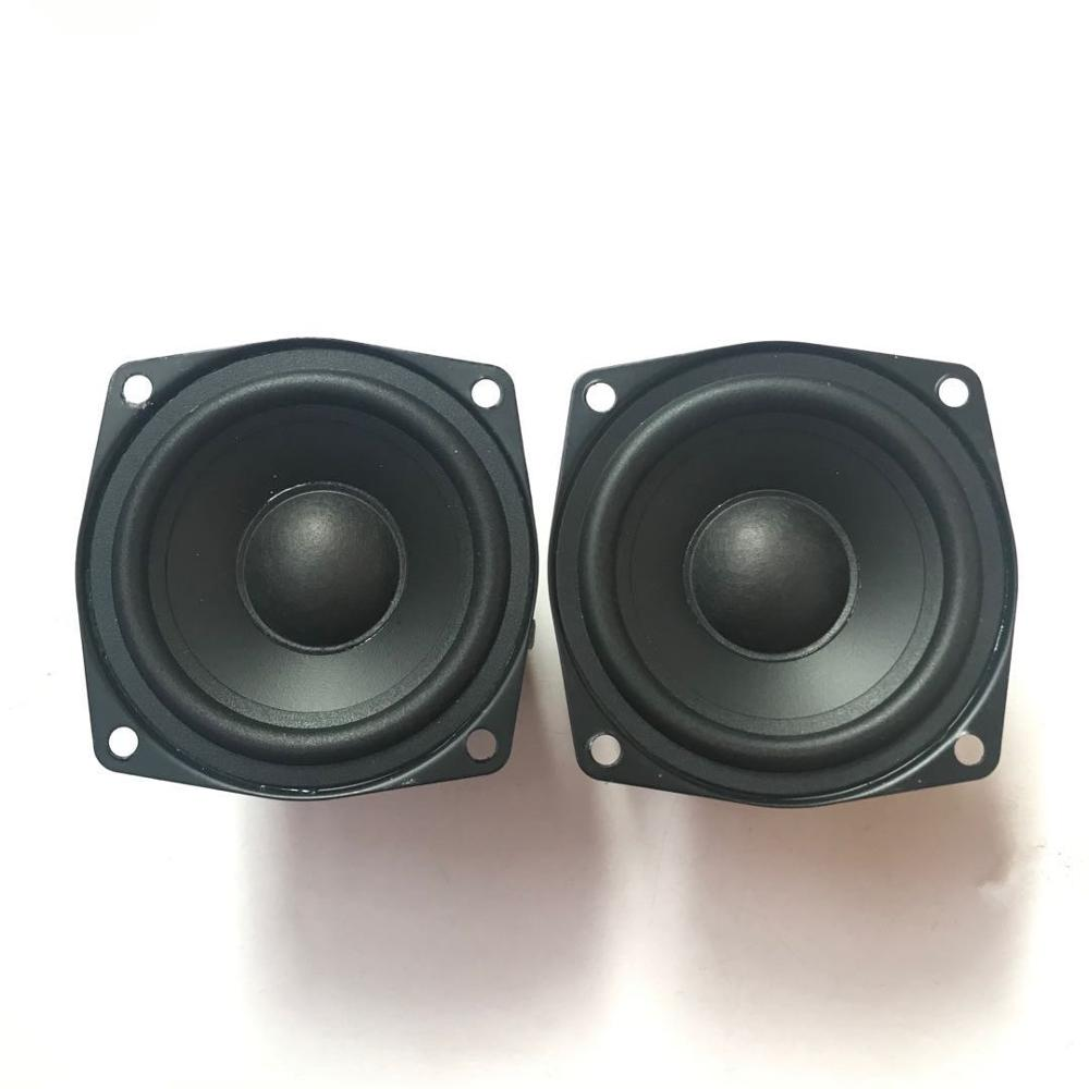 "2pcs 3/""inch 78mm 4Ω 15W Full-range Speaker 4ohm Loudspeaker Home Audio Parts"