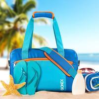 Gonex INS, стильная водонепроницаемая сумка для плавания, пляжный пул комбо, сухая влажная сумка, бикини, купальник, большая емкость, для плавани...