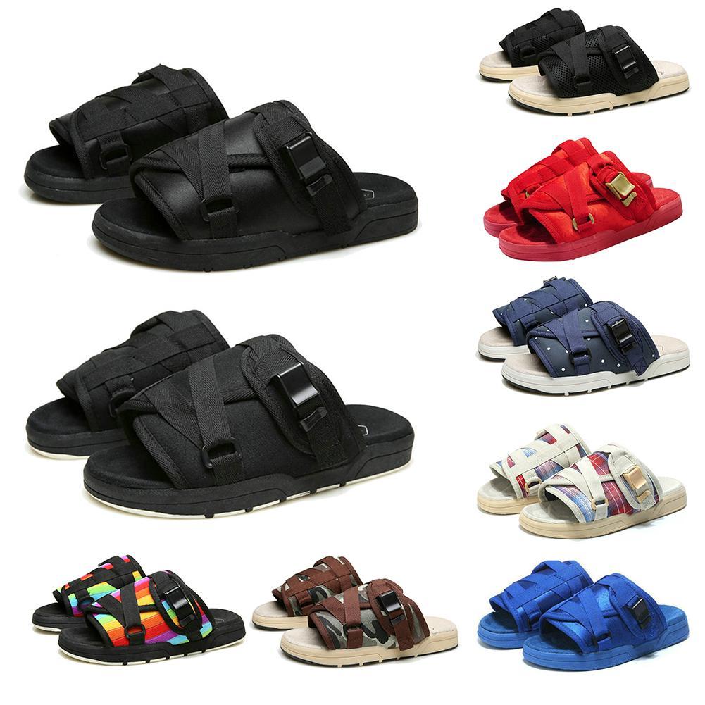 Men Summer Slides Large Sized Nonslip Slippers Trendy Flip-Flops Casual Beach Sandals for Women Men