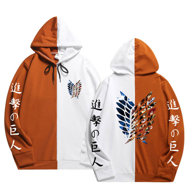 ATTACK ON TITAN THEMED HOODIE (6 VARIAN)