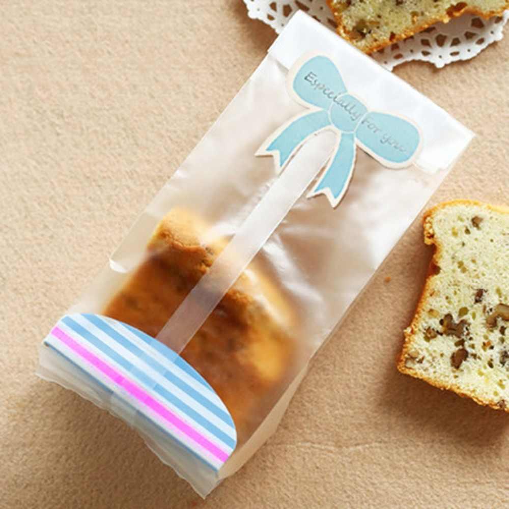 Cookie Snoep Brood Plastic Zelf Stand Verpakking Zakken, Clear Party Gift Chocolade Bruiloft Zakken 20 Stks/partij