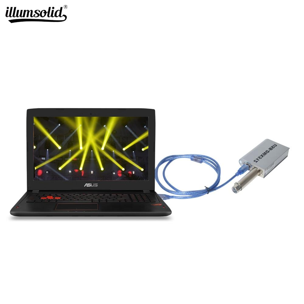 Dmx Controller USB Dmx512 Computer Stage Lighting Control Equipment For Led Par Light Disco/bar/Dj/club/party Lights