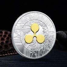 Высокое качество пульсация монета с покрытием из памятные коллекционные монеты подарок пульсация ксрп физическая коллекция искусство 1 шт....