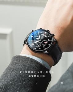 Image 5 - Youpin timerolls multi funcional lazer relógio de quartzo cronômetro à prova dwaterproof água luminosa fresco multi olho relógio de negócios