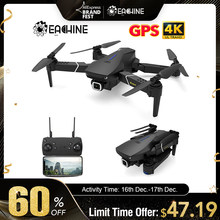 Eachine E520S E520 GPS FOLLOW ME WIFI FPV Quadcopter With 4K/1080P HD Wide Angle Camera Foldable Altitude Hold Durable RC Drone(China)
