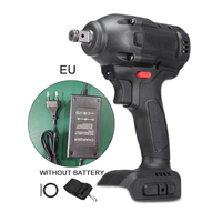 258V 480Nm Brushless Wireless Wrench Impact Controller Power Tools W/Charger|Electric Wrenches| |  -