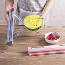 Дозатор/резак для пищевой обертки, кухонный инструмент, фольга, оберточная кулинарная пленка, Диспенсер, пластиковый острый резак, держатель для хранения