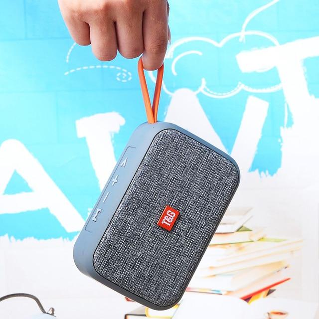 Portable Speaker Wireless Bluetooth Speakers TG506 Soundbar Outdoor Sports  Support TF Card FM Radio Aux HIFI  Subwoofer 1