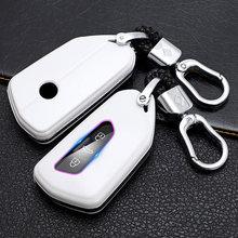 1 шт. ABS чехол для брелка с ключом для 2020 VW Golf 8 ID.3 ID.4 Tarraco - Ateca Seat Leon 4 Skoda Octavia Smart Key защитный чехол
