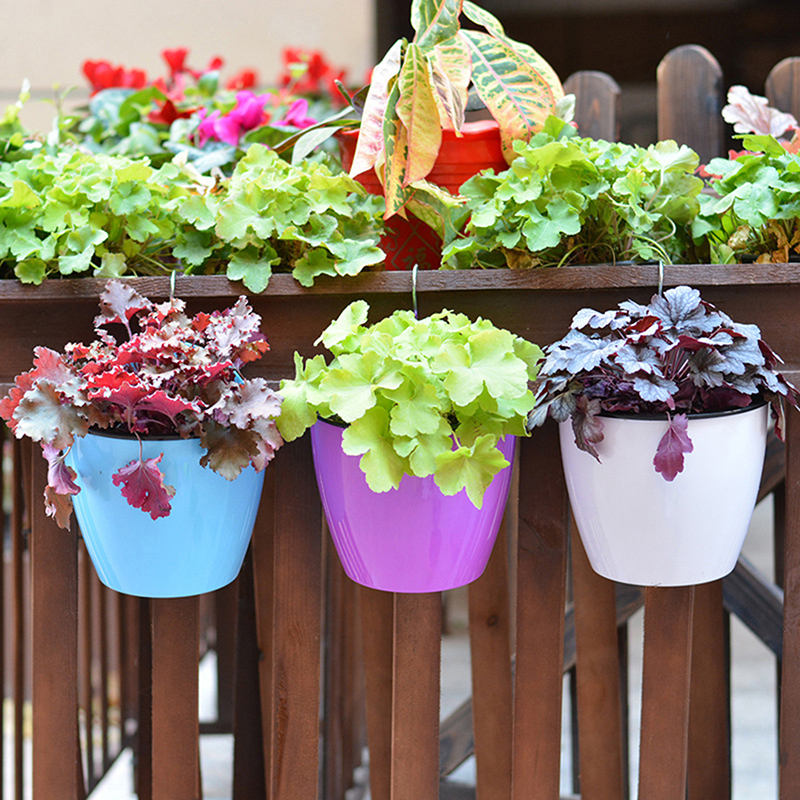 Подвесная Корзина держатель для хранения растений ленивый цветочный горшок креативный садовый настенный многофункциональный автоматический водопоглощение Цветочные горшки и кадки      АлиЭкспресс