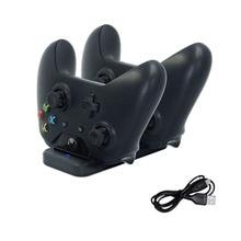Mando inalámbrico de doble Estación De Carga para Xbox one, Base de soporte USB para mandos de Xbox one