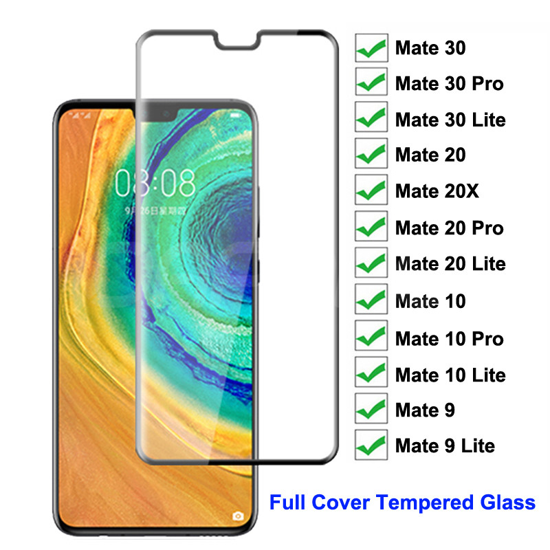 200D Tempered Glass on the For Huawei Mate <font><b>30</b></font> 20 <font><b>10</b></font> Pro Screen Protector Mate <font><b>30</b></font> 20 <font><b>10</b></font> 9 Lite 20X Safety Protective Glass Film image