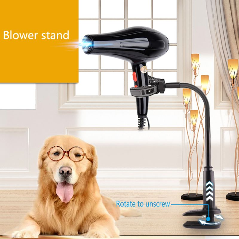 Bracket Table-Holder Pets-Clothes Pet-Hair-Dryer Grooming-Support-Frame Rotatable Dog