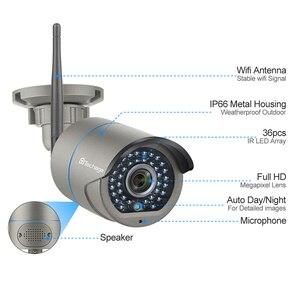 Image 3 - Techage 8CH H.265 Wifi NVR kamera sistemi İki yönlü ses kablosuz 4/6/8 adet 2MP CCTV IP kamera HD P2P Video gözetim kiti