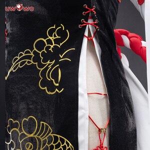Image 3 - Женский костюм для косплея Uwowo, новый год, Аянами, линь, китайский стиль