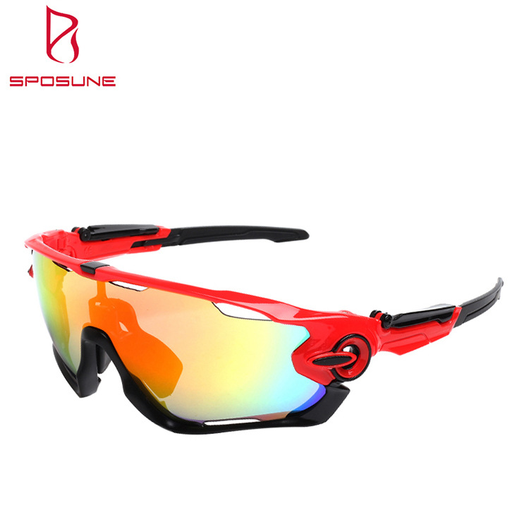 Glasses For Riding Men And Women Adult Glasses Anti-Dust Anti-Glare Polarized Glasses Three Pieces Set Non-Standard