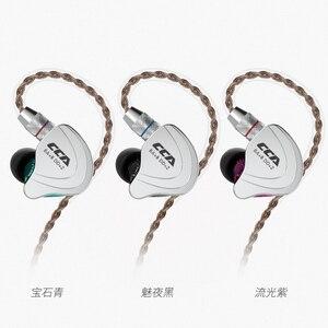Image 2 - CCA auriculares internos híbridos C10 4BA + 1DD, auriculares Hifi para Dj Monito, deportes de correr, C04 C16 CA4 C12