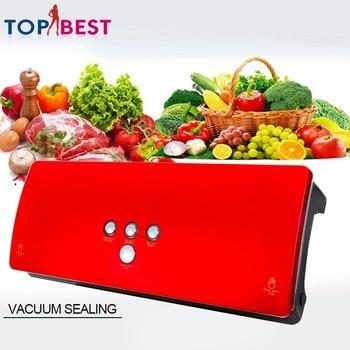 Vacuum Sealer Home Food Sealer Saver Kitchen Packing Machine Electric Home Degasser  with Vacuum Bag