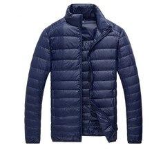 masculina casacos quente sólido