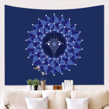 Mandala Tapestry Home Decor Black Wall Hanging Gossip Tapestry Cloth Fabric Tapestries Blanket Beach Towel feather fabric wall hanging home decor tapestry