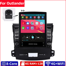 Android 10 2 Din Auto Multimedia-Player Dvd Gps Auto Radio Navigation Wifi Bluetooth IPS Bildschirm DSP Für Mitsubishi Outlander 3 XL