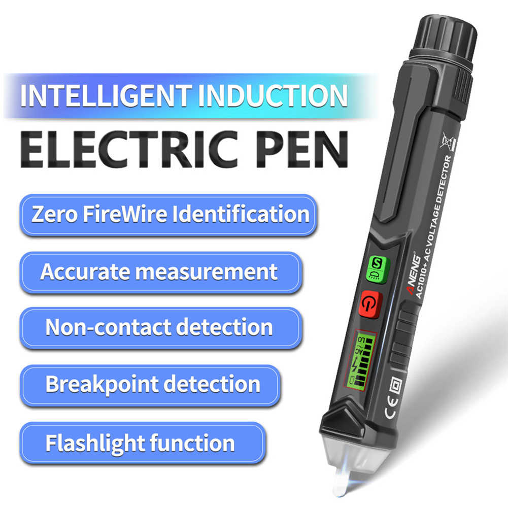 ANENG VC1010 AC//DC Non-Contact Pen Tester Volt Current Electric Test Pencil