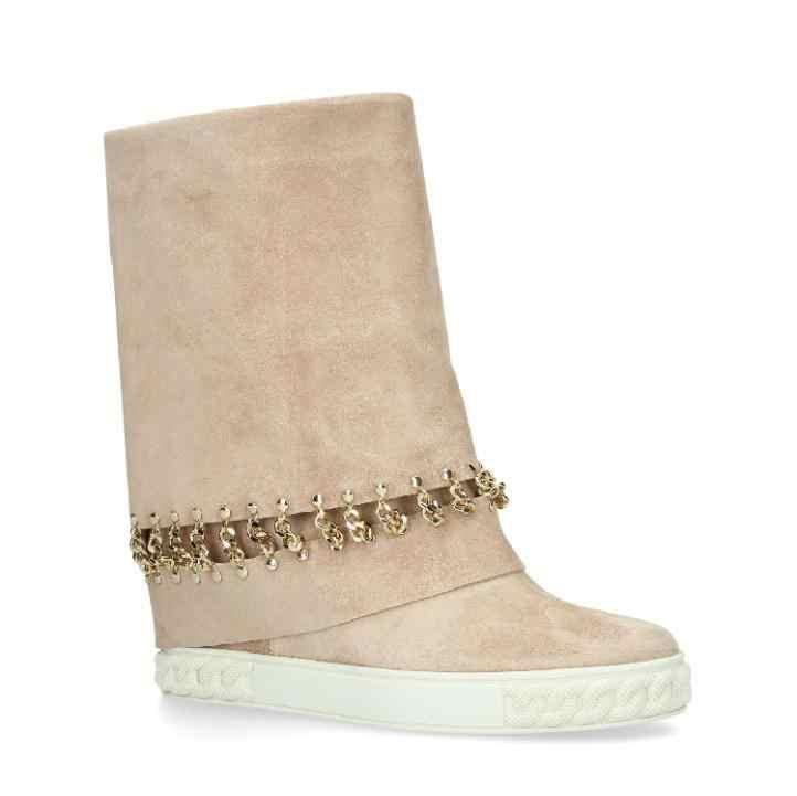 Botas De cuero vacuno De media pantorrilla Botas De Mujer cómodas Botas Mujer cuñas Zapatos para Mujer moda Botas Mujer 2020 Zapatos De Mujer