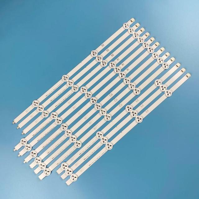 12Pcs 47 LED רצועות ברים עבור LG 47LN5400 CN 47LP360C CA 47LN519C CC 47LN5790 47LN5750 47LN5700 47LN5200