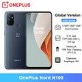 Смартфон глобальная версия OnePlus Nord N100, 4 + 64 ГБ, 6,52 дюйма, Snapdragon 460, 90 Гц, 13 МП, тройная камера, 5000 мАч