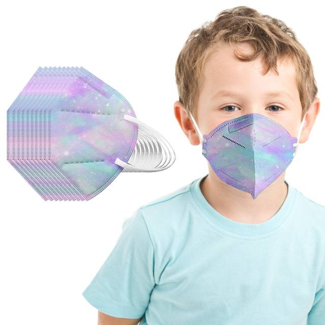 Disposable 3D protective mask for children 10 units