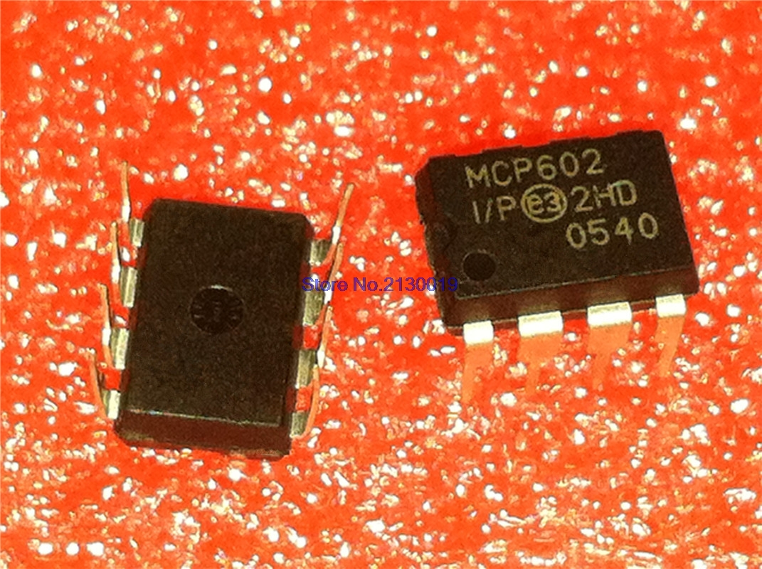 4pcs/lot MCP602-I/P MCP602 DIP-8 In Stock