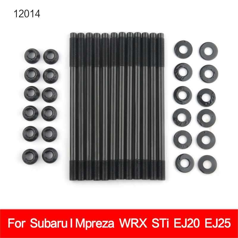 for 260-4701 Cylinder Head Stud Kit for Subaru IMPREZA WRX  amp  STI TURBO EJ20 2 0L and EJ25 2 5L DOHC Turbo Engines