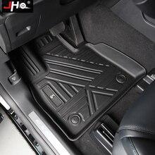Copertura del tappeto del tappetino in gomma per auto JHO TPE per Ford Explorer 2020 2021 Base limitata XLT Platinum ST accessori interni