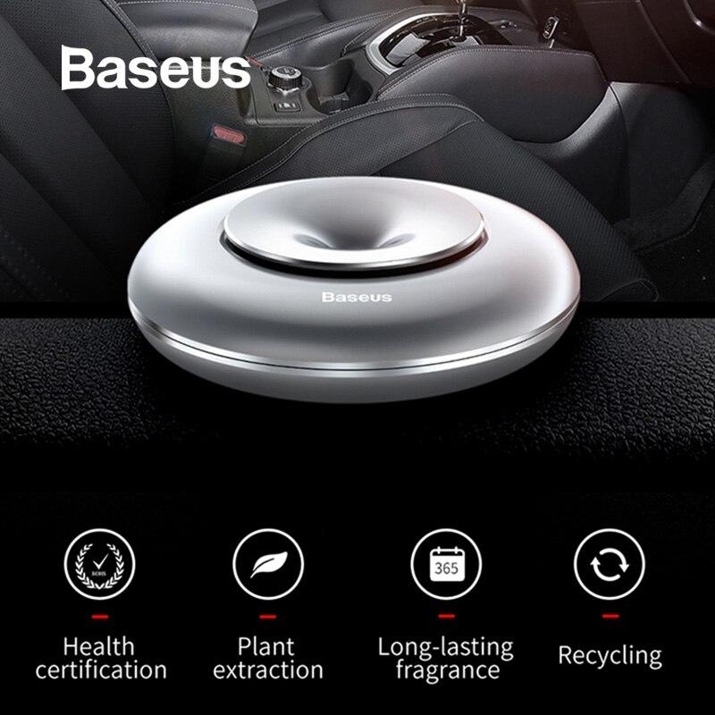 Baseus Car-Perfume Air-Freshener Auto-Diffuser Sweet-Smell Lemon Pure-Alloy