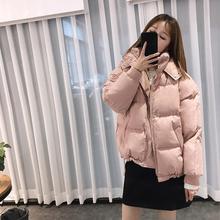 2019 Winter Short Hooded Parka Casual Women Long Sleeve Coat Female Thick Warm Outwear