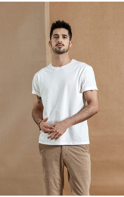 Causal O-Neck Basic T-Shirt 17